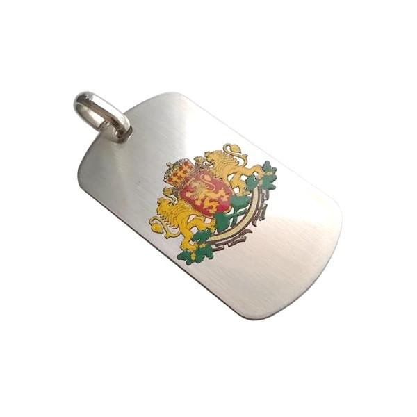 Плочка с печат на герба на България