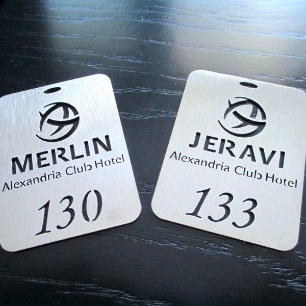 Ключодържатели за хотели Merlin и Jeravi