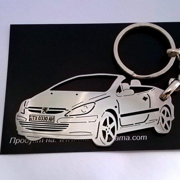 Поръчков ключодържател за Peugeot 307 cabrio