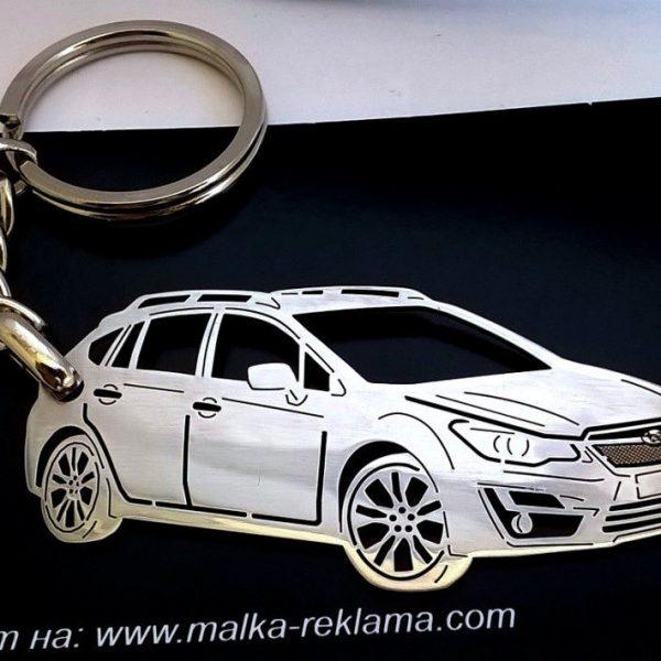 Поръчков ключодържател за Subaru Impreza 2015