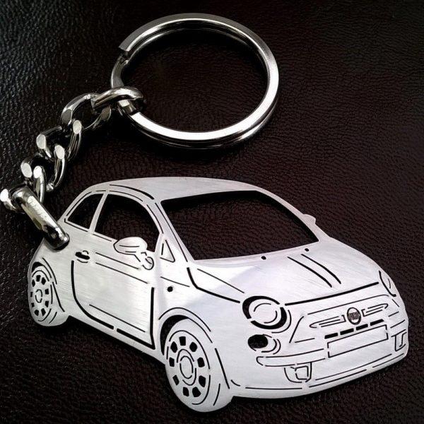 Поръчков ключодържател за Fiat 500