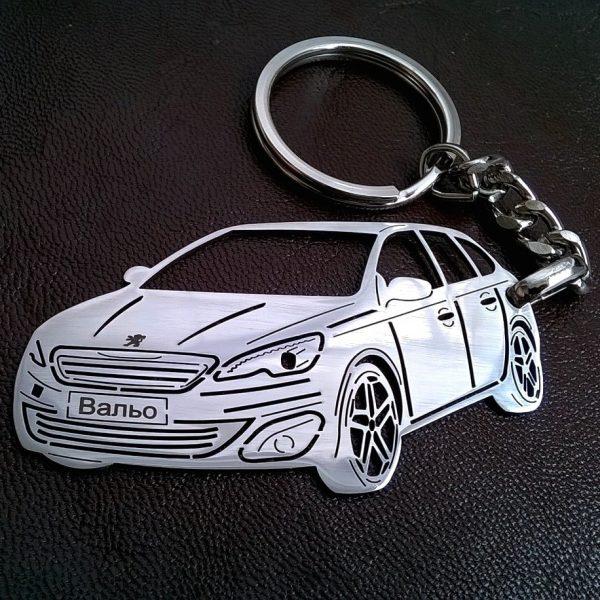 Поръчков ключодържател за кола Peugeot 308 SW