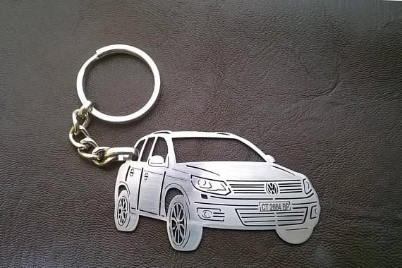 Поръчков ключодържател за VW Tiguan