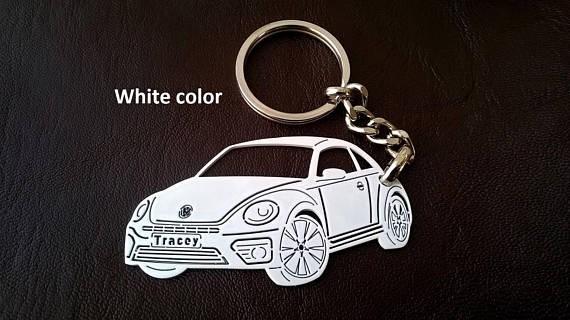 Поръчков ключодържател за VW Beetle