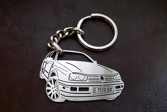 Поръчков ключодържател за VW Golf mk4
