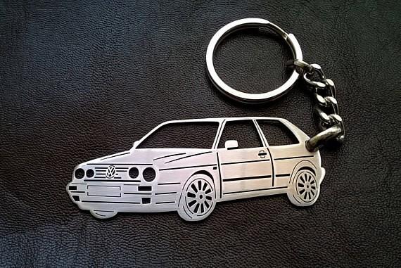 Поръчков ключодържател за VW Golf mk2