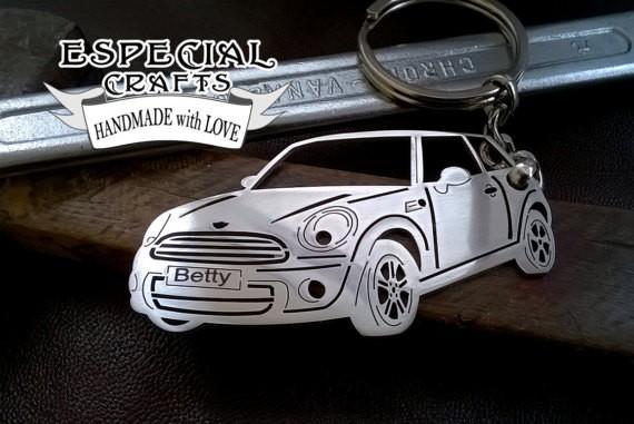 Поръчков ключодържател за Mini Cooper