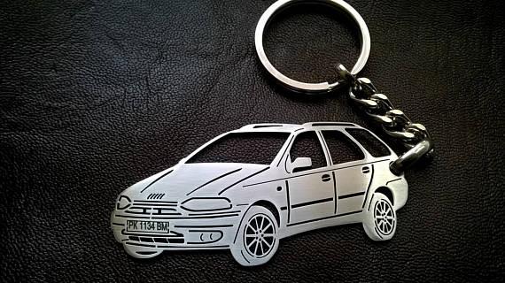 Поръчков ключодържател за Fiat Palio
