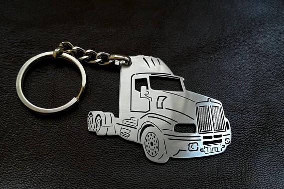 Поръчков ключодържател за Kenworth truck