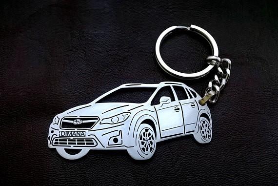 Поръчков ключодържател за Subaru XV
