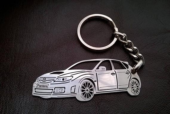 Поръчков ключодържател за Subaru Impreza