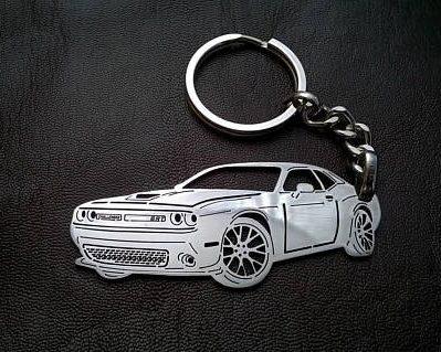 Поръчков ключодържател за Dodge Challenger