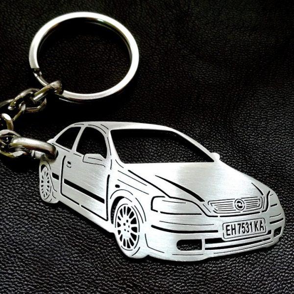 Поръчков ключодържател за Opel Astra G