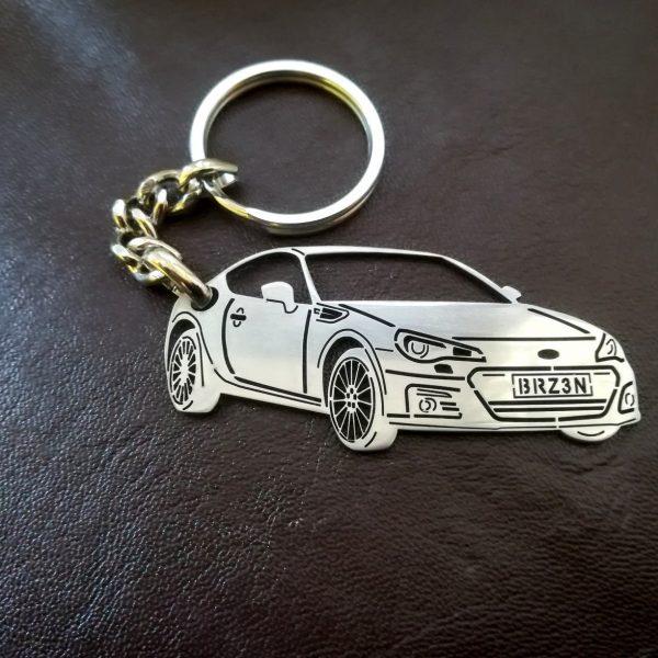 Поръчков ключодържател за Subaru BRZ