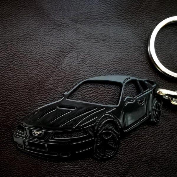 Поръчков ключодържател за Ford Mustang GT black