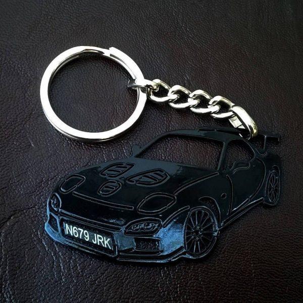 Поръчков ключодържател за mazda rx7 black