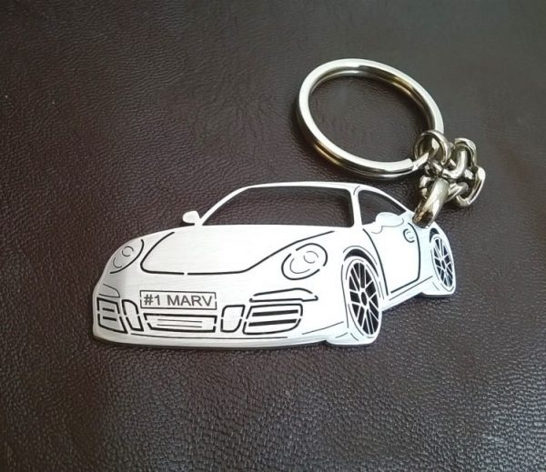 Поръчков ключодържател за Porsche 911 coupe