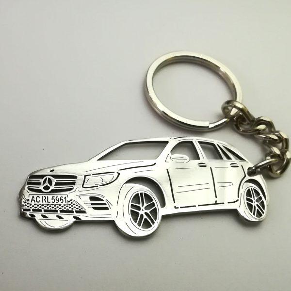 Mercedes Benz GLC keychain