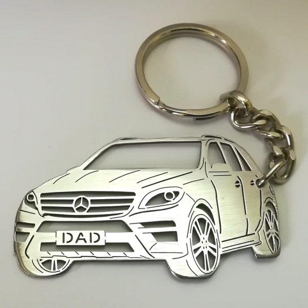 Mercedes ML 350 BlueTEC keychain