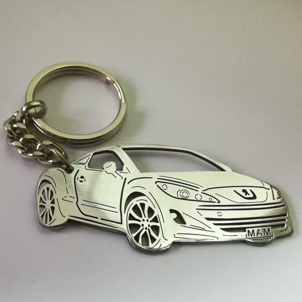 Peugeot RCZ keychain
