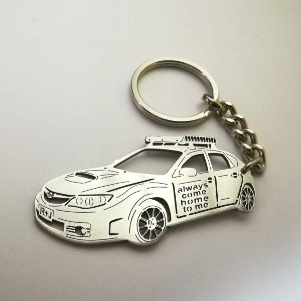 Subaru sti keychain