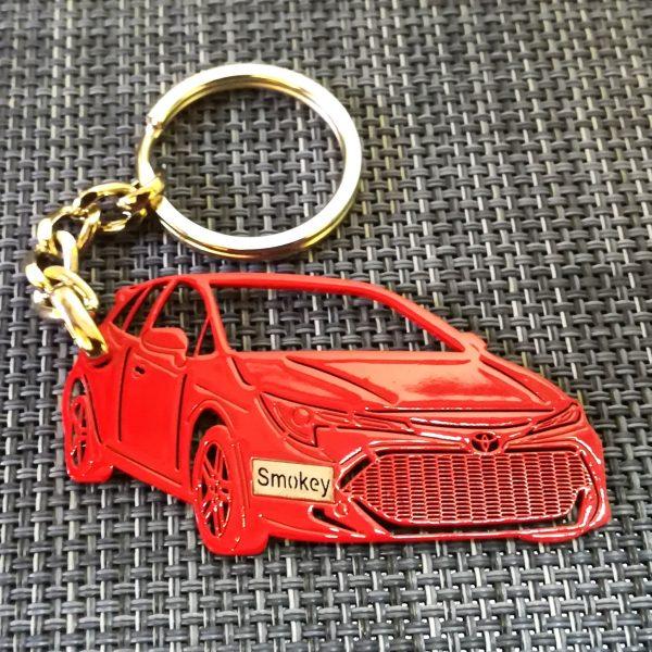 Toyota corolla 2019 keychain