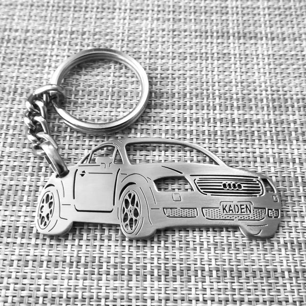 Audi TT ALMS 2002 keychain
