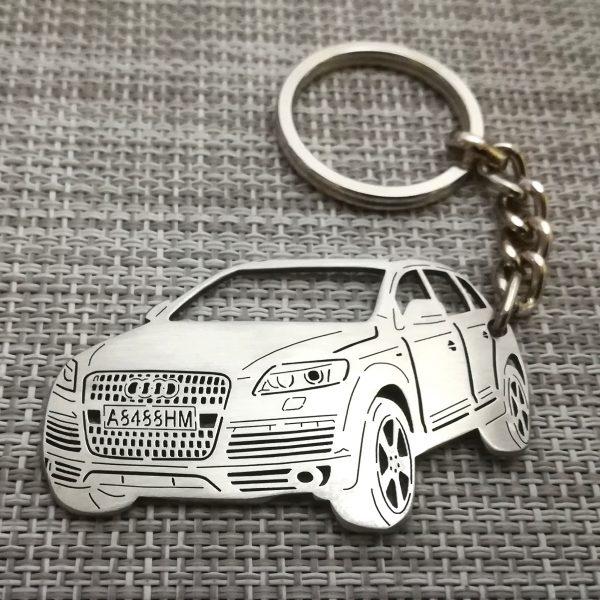 Audi Q7 keychain