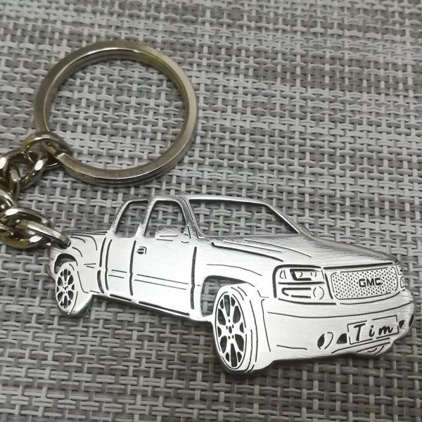 200 gmc keychain