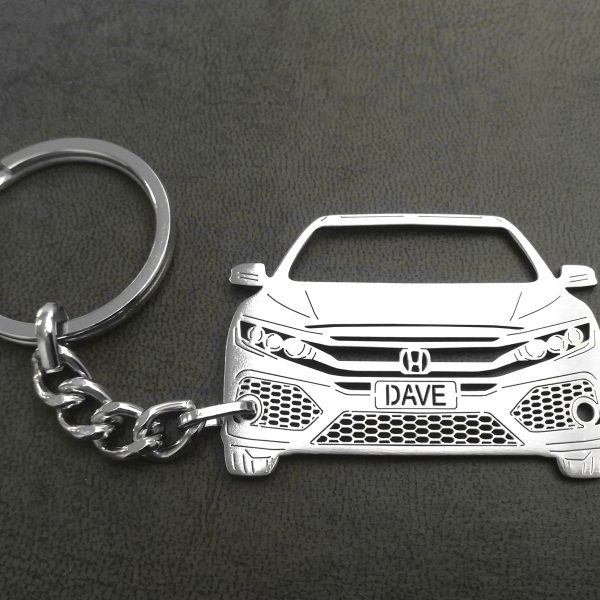 2019 Honda Civic Hatchback keychain