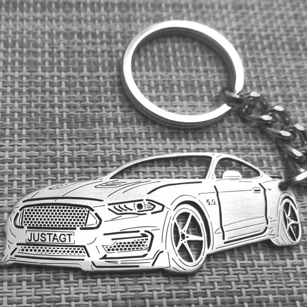 ford Mustang GT 2018 keychain