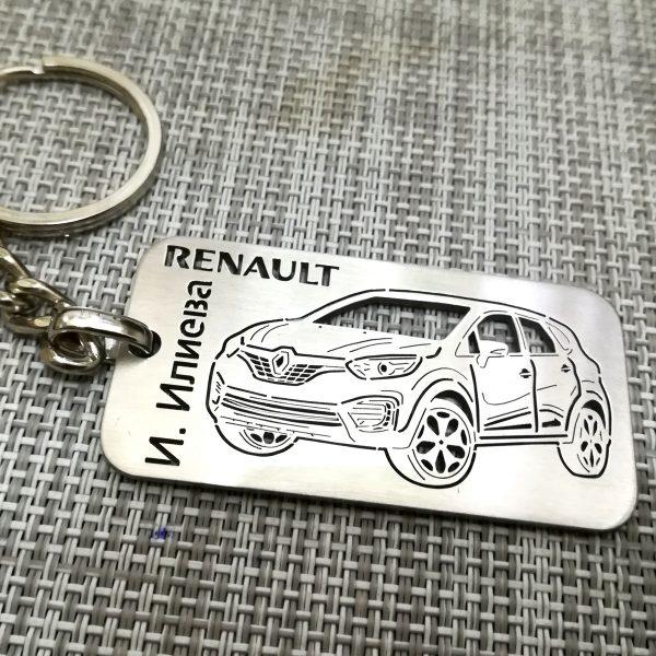 Renault Captur 2018 плочка