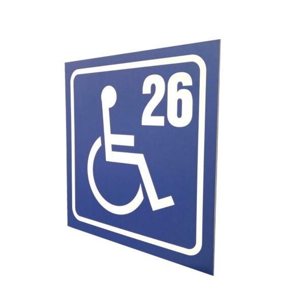 паркинг табела инвалиди
